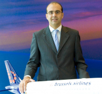 Brussels Airlines Co-CEO, Mr Bernard Gustin
