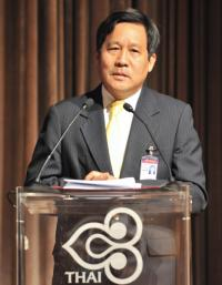 Thai Airways President, Piyasvasti Amranand